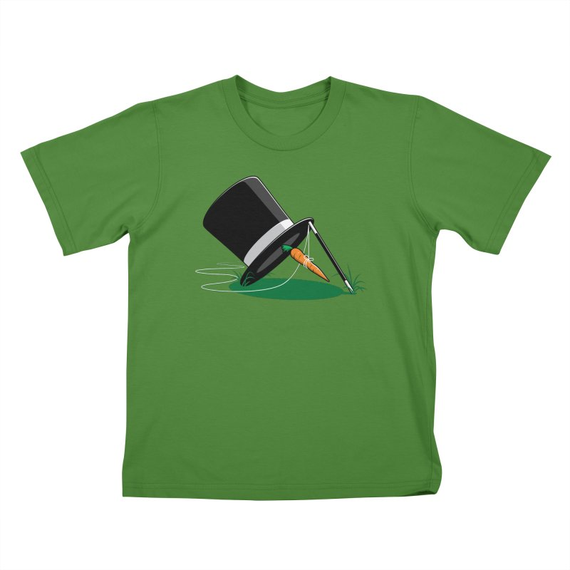 Works Like Magic Kids T-Shirt by glennz's Artist Shop