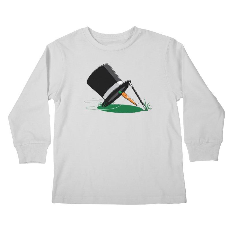 Works Like Magic Kids Longsleeve T-Shirt by glennz's Artist Shop
