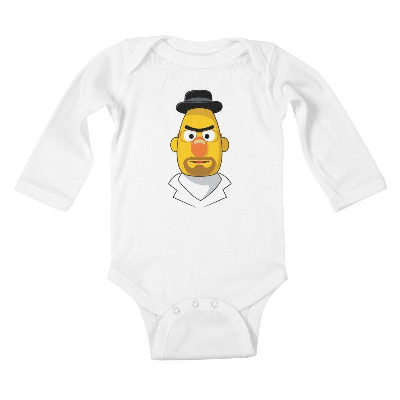 Heisenbert Kids Baby Longsleeve Bodysuit by glennz's Artist Shop