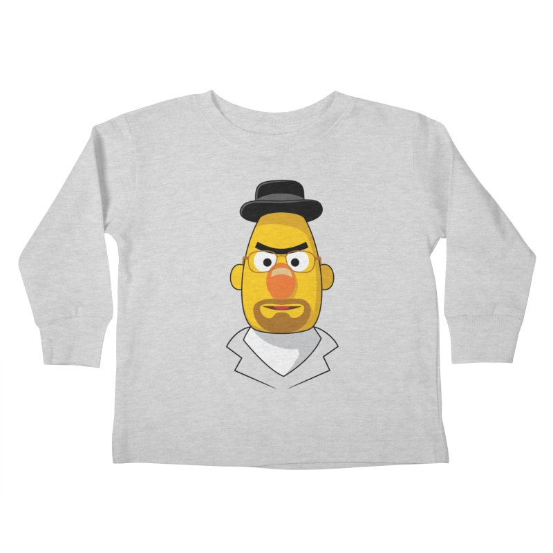Heisenbert Kids Toddler Longsleeve T-Shirt by glennz's Artist Shop