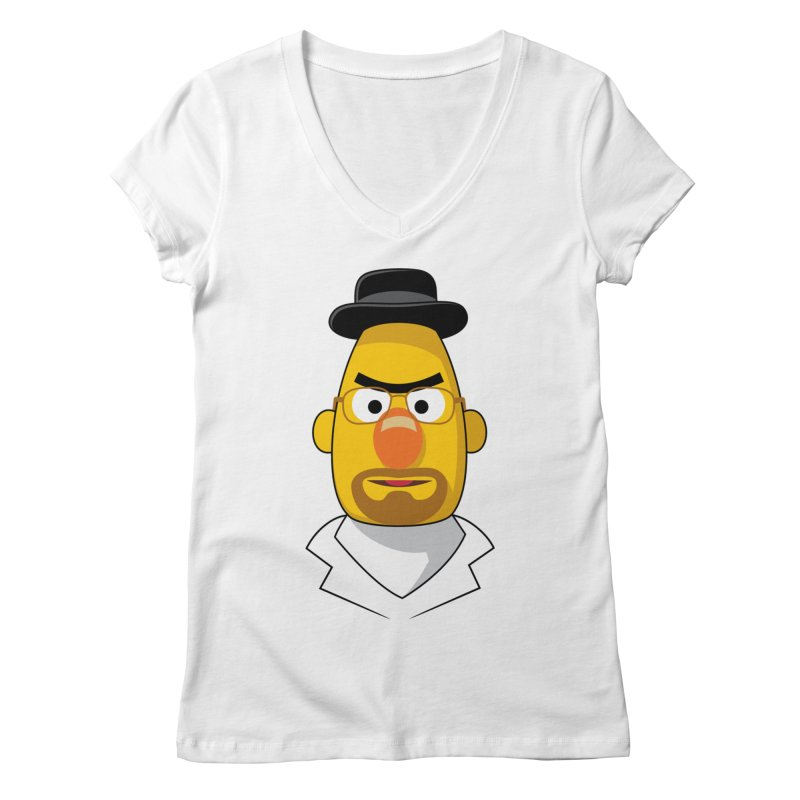 Heisenbert Women's V-Neck by glennz's Artist Shop