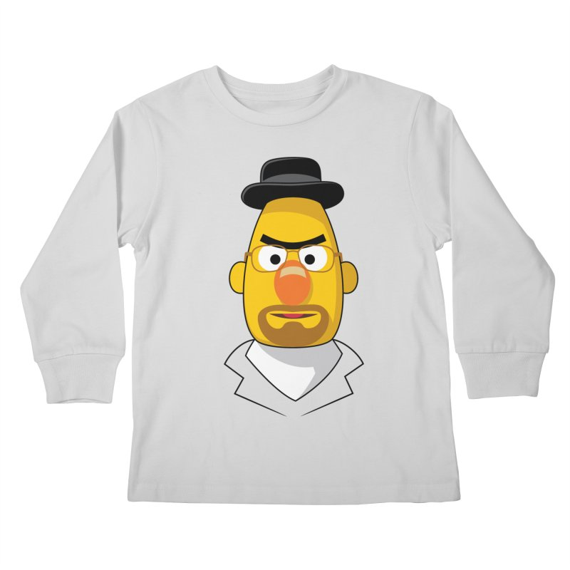 Heisenbert Kids Longsleeve T-Shirt by glennz's Artist Shop