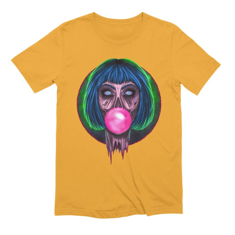 Zombie Bubblegum Men's Extra Soft T-Shirt by The Glitchway