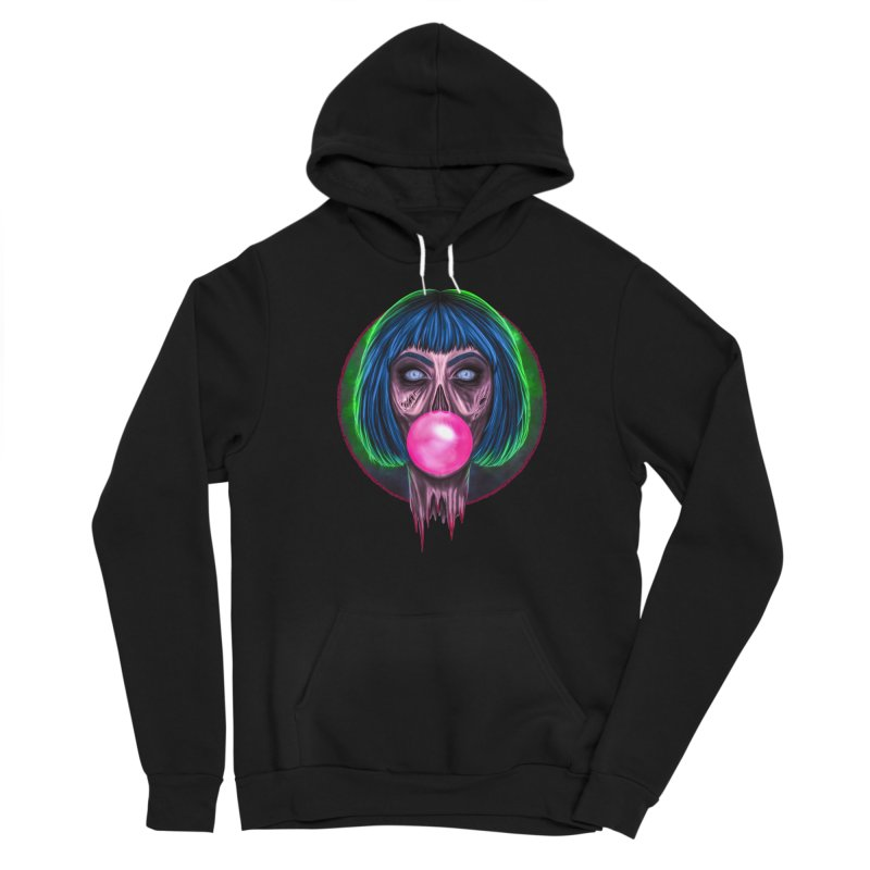Zombie Bubblegum Women's Pullover Hoody by The Glitchway