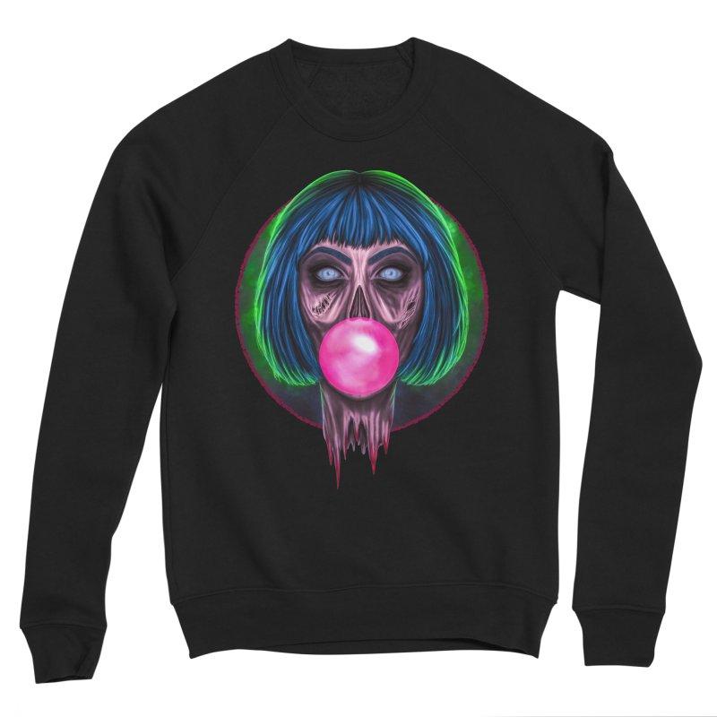 Zombie Bubblegum Women's Sweatshirt by The Glitchway