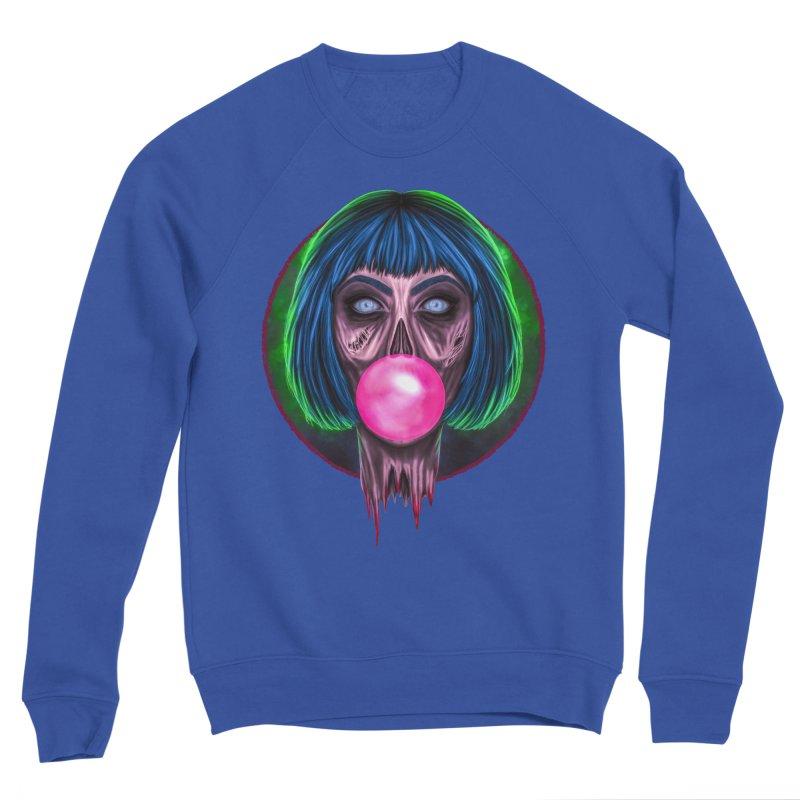 Zombie Bubblegum Men's Sponge Fleece Sweatshirt by The Glitchway