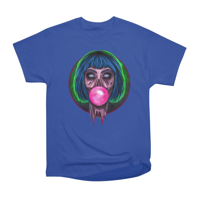 Zombie Bubblegum Men's Heavyweight T-Shirt by The Glitchway