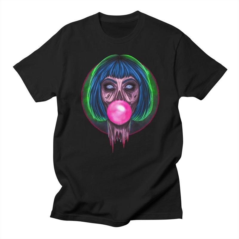 Zombie Bubblegum Men's T-Shirt by The Glitchway