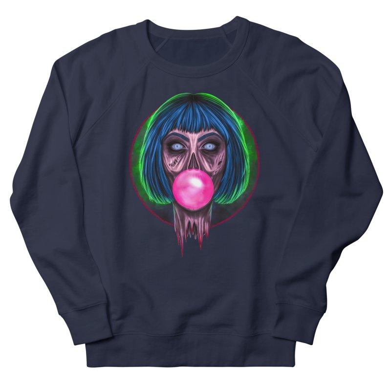 Zombie Bubblegum Men's French Terry Sweatshirt by The Glitchway