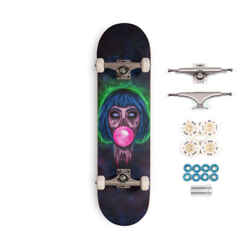 Zombie Bubblegum Accessories Complete - Premium Skateboard by The Glitchway