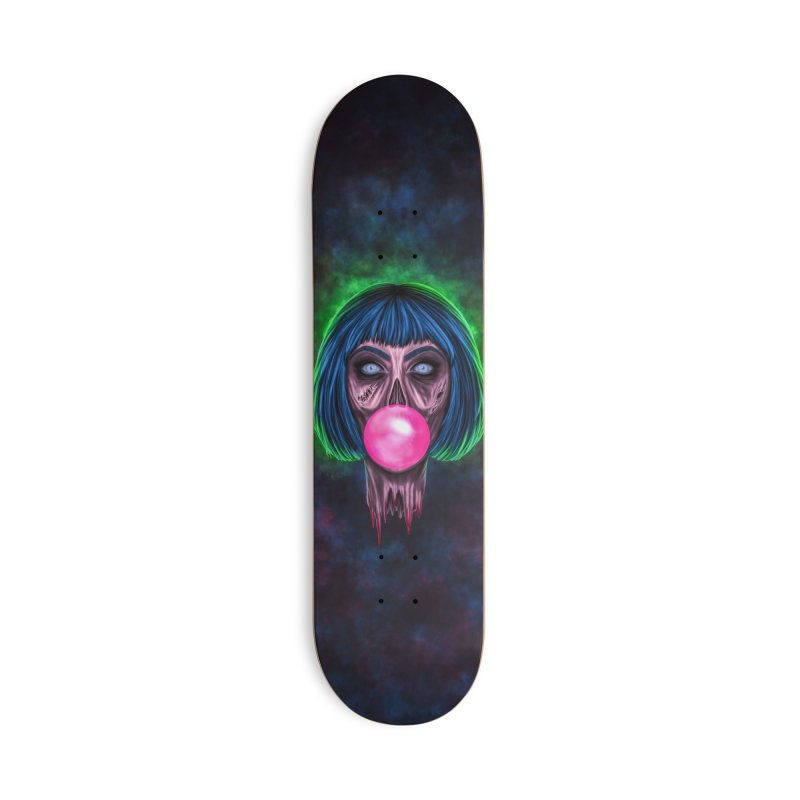 Zombie Bubblegum Accessories Deck Only Skateboard by The Glitchway