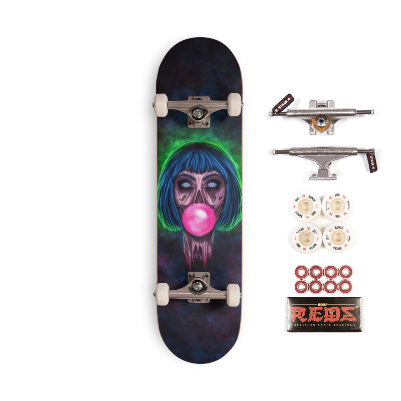 Zombie Bubblegum Accessories Complete - Pro Skateboard by The Glitchway