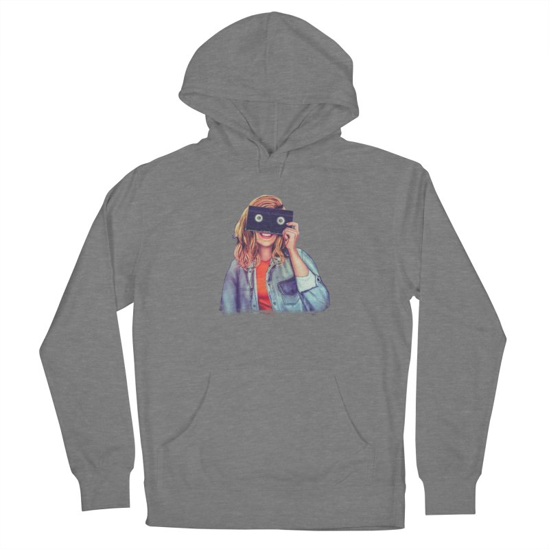 VHS Vision Women's Pullover Hoody by The Glitchway