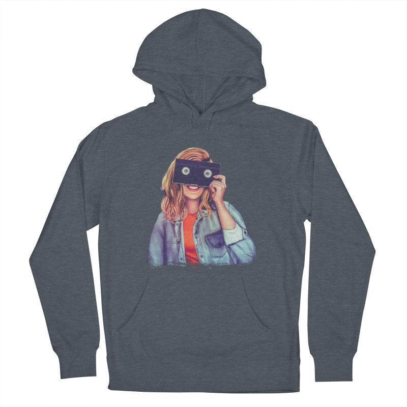 VHS Vision Women's Pullover Hoody by Glitchway Store