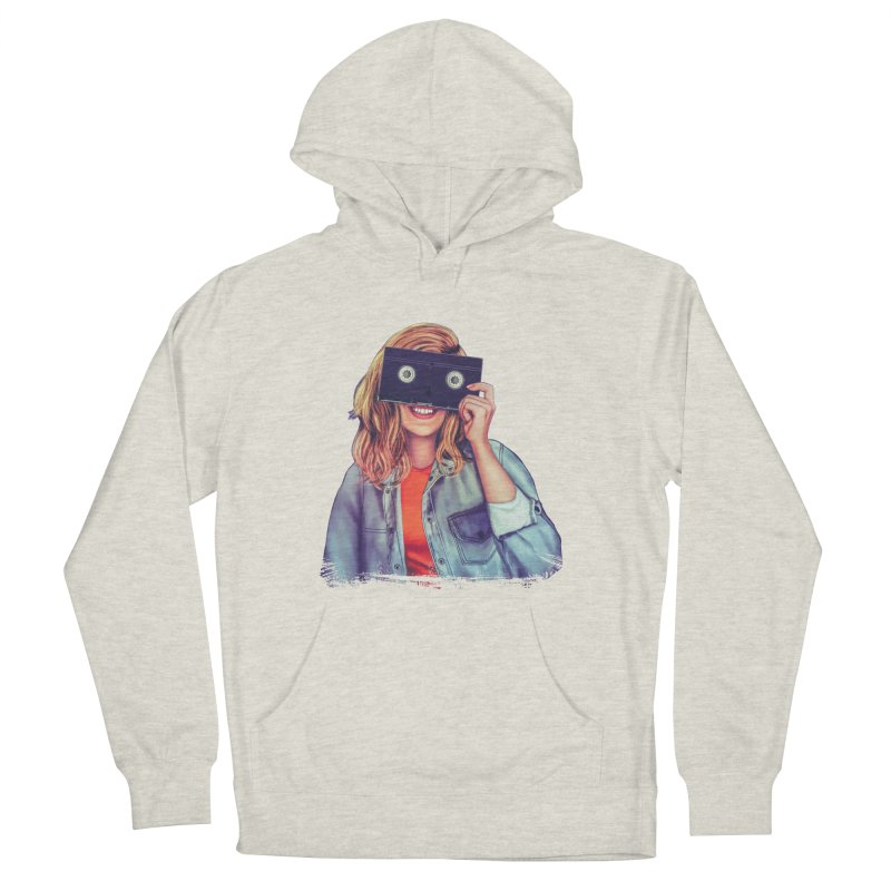VHS Vision Women's French Terry Pullover Hoody by The Glitchway