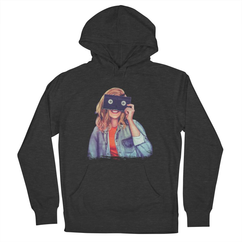 VHS Vision Men's Pullover Hoody by Glitchway Store