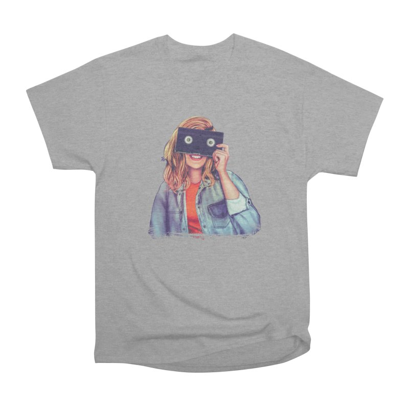 VHS Vision Women's Classic Unisex T-Shirt by Glitchway Store