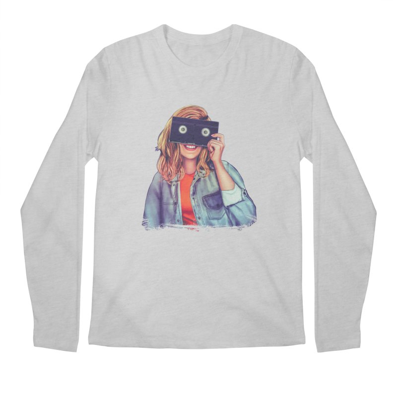 VHS Vision Men's Regular Longsleeve T-Shirt by The Glitchway