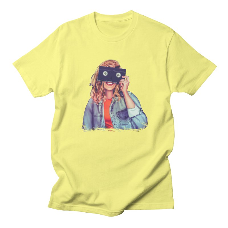 VHS Vision Women's Unisex T-Shirt by Glitchway Store