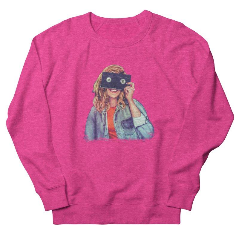 VHS Vision Women's Sweatshirt by Glitchway Store