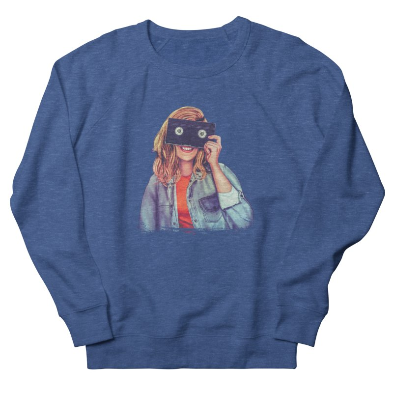 VHS Vision Men's Sweatshirt by The Glitchway