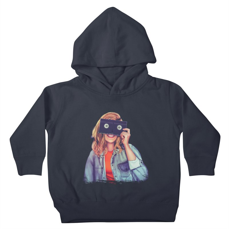 VHS Vision Kids Toddler Pullover Hoody by Glitchway Store