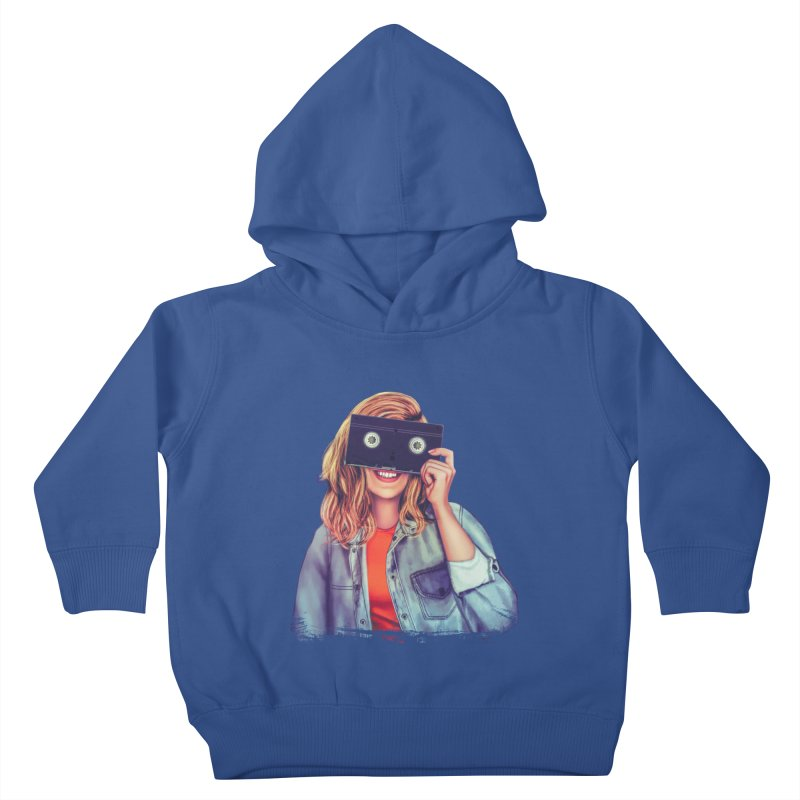 VHS Vision Kids Toddler Pullover Hoody by The Glitchway