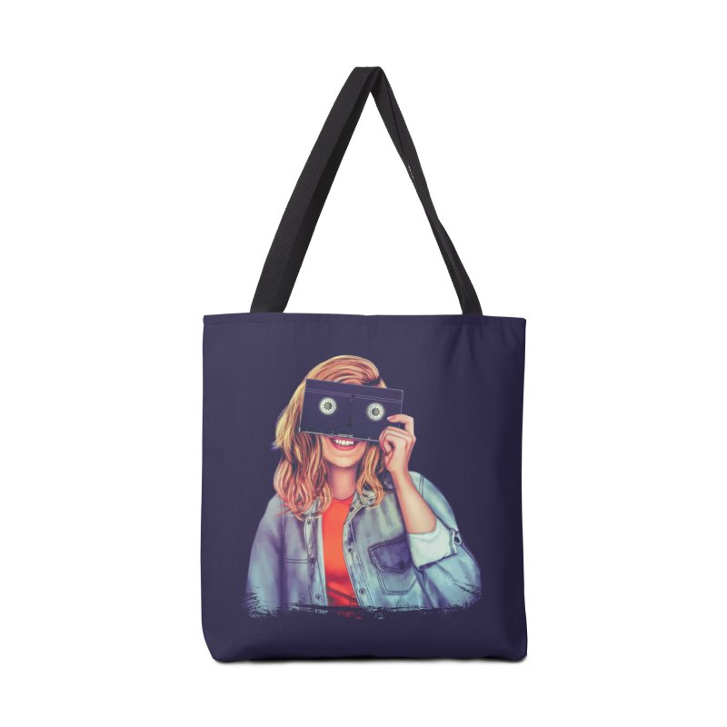 VHS Vision Accessories Bag by Glitchway Store