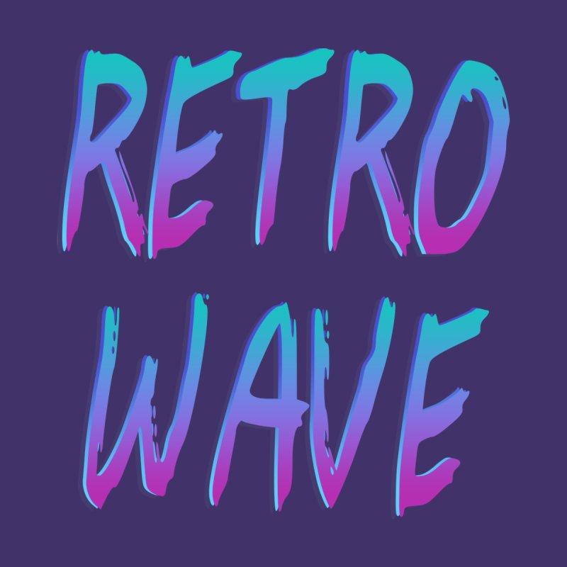 Retrowave Ocean II by Glitchway Store
