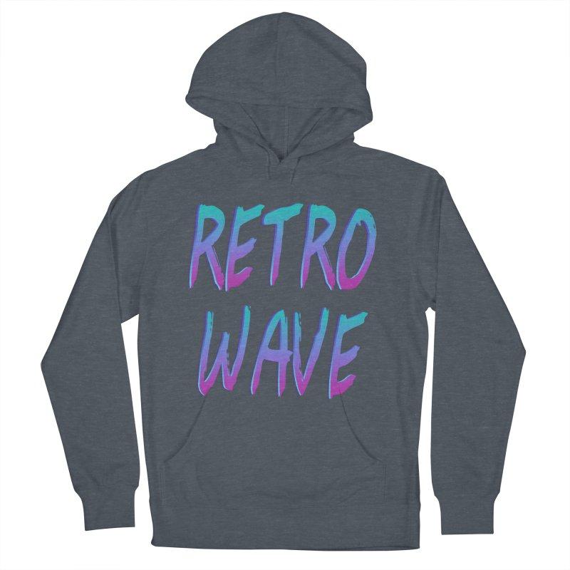 Retrowave Ocean II Women's Pullover Hoody by Glitchway Store