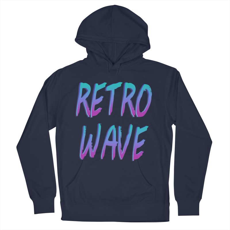 Retrowave Ocean II Women's Pullover Hoody by Glitchway Store