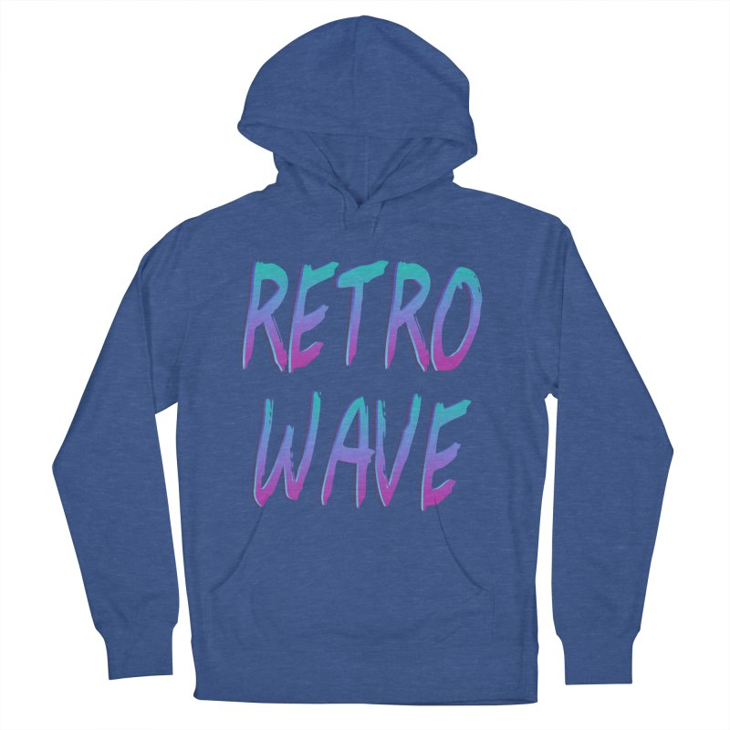 Retrowave Ocean II Men's Pullover Hoody by Glitchway Store