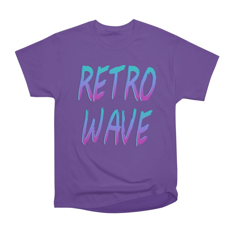 Retrowave Ocean II Men's Classic T-Shirt by Glitchway Store