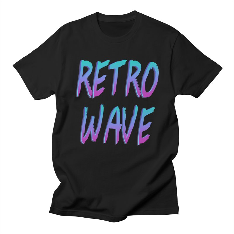 Retrowave Ocean II Men's T-shirt by Glitchway Store