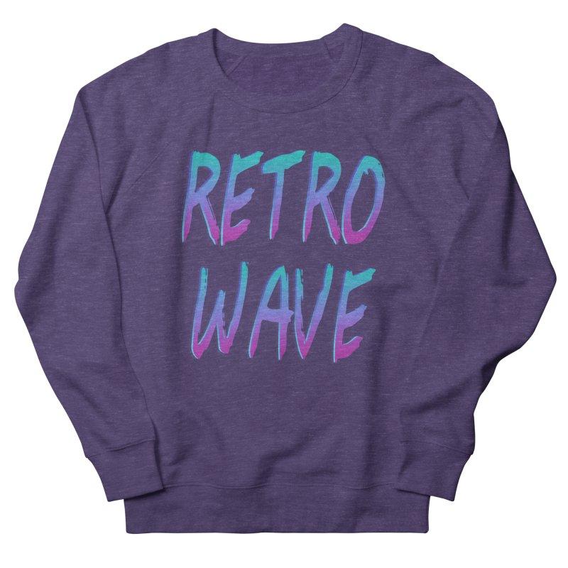 Retrowave Ocean II Men's Sweatshirt by Glitchway Store