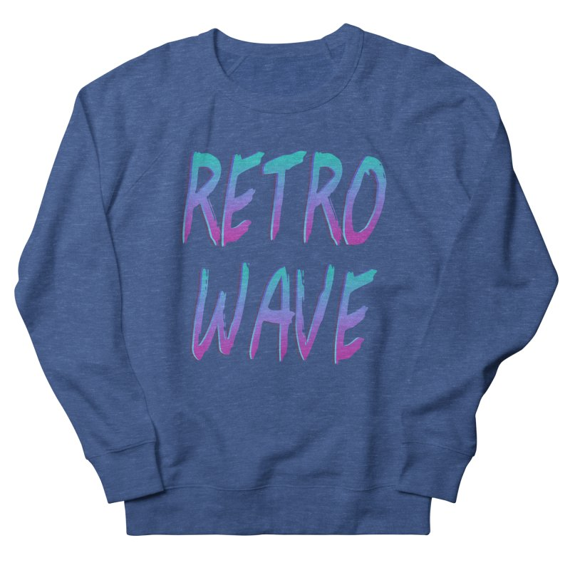 Retrowave Ocean II Men's Sweatshirt by The Glitchway