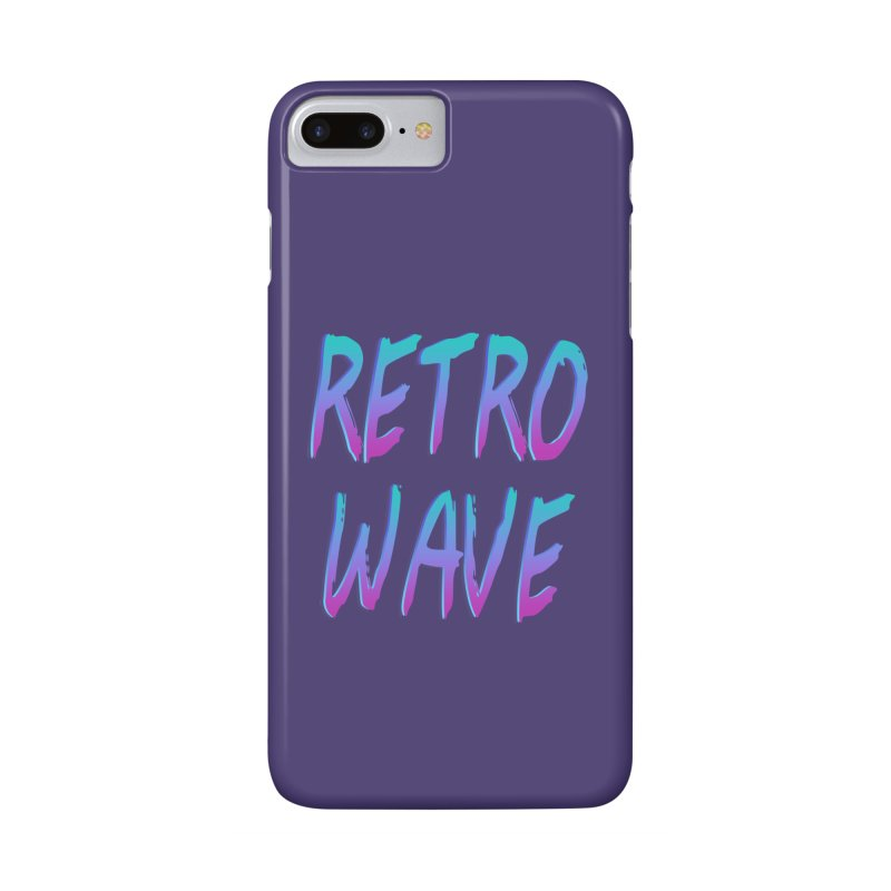 Retrowave Ocean II Accessories Phone Case by Glitchway Store