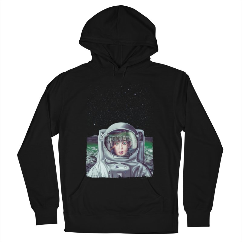 Not Alone Women's Pullover Hoody by Glitchway Store