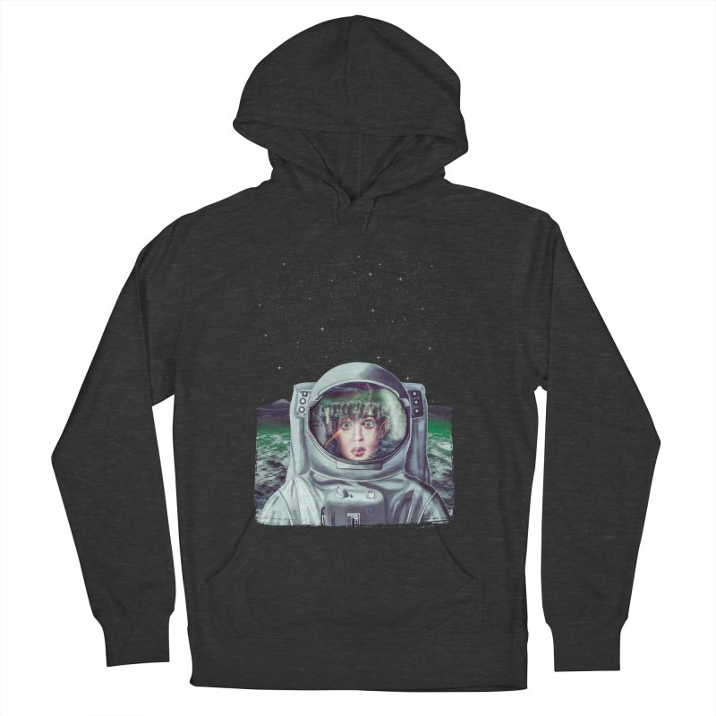 Not Alone Men's Pullover Hoody by Glitchway Store