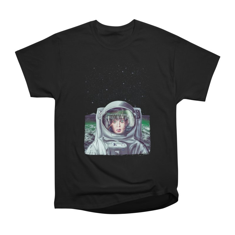 Not Alone Men's Classic T-Shirt by Glitchway Store