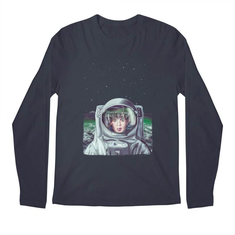 Not Alone Men's Longsleeve T-Shirt by Glitchway Store