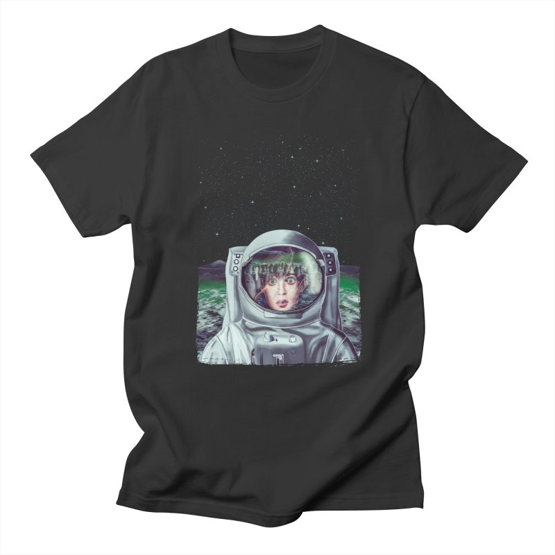 Not Alone Men's T-shirt by Glitchway Store