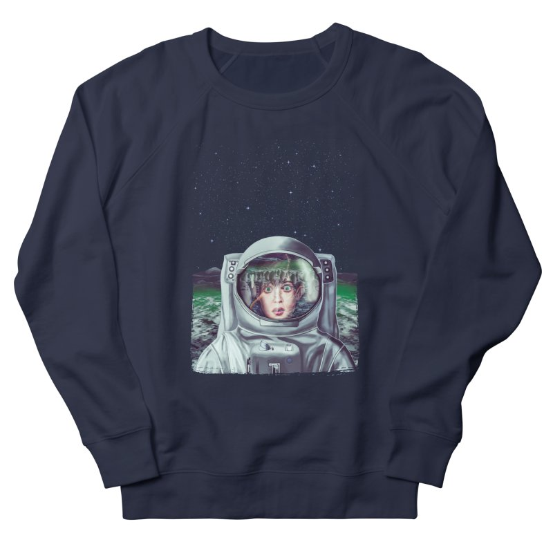 Not Alone Men's Sweatshirt by Glitchway Store