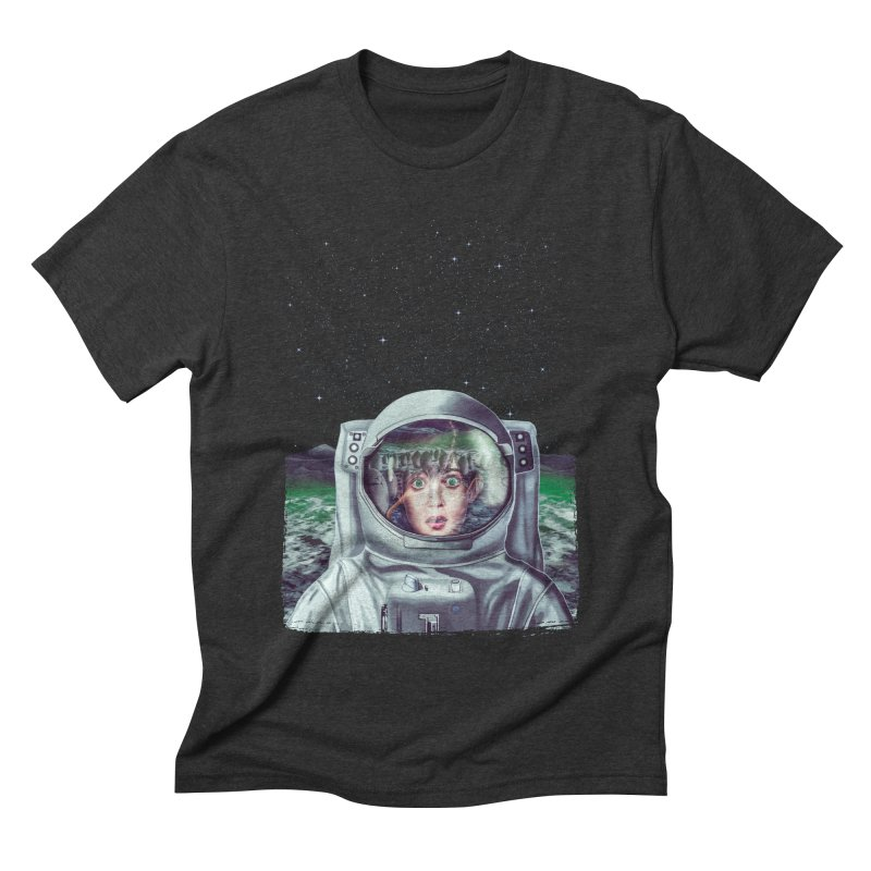 Not Alone Men's Triblend T-shirt by Glitchway Store
