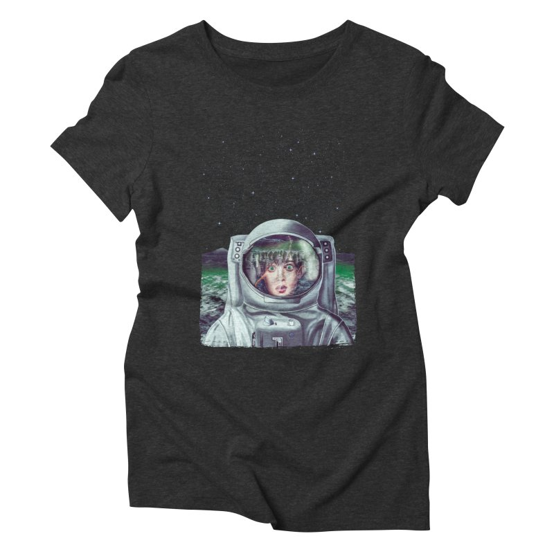 Not Alone Women's Triblend T-shirt by Glitchway Store