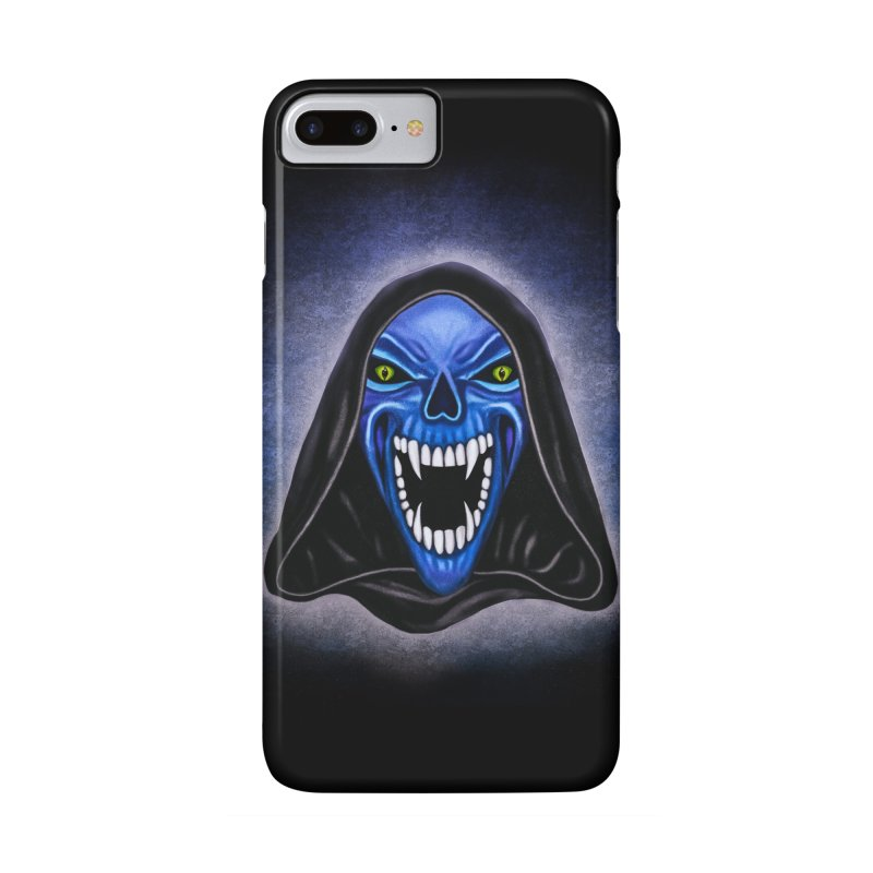 Blue Ghost Accessories Phone Case by Glitchway Store