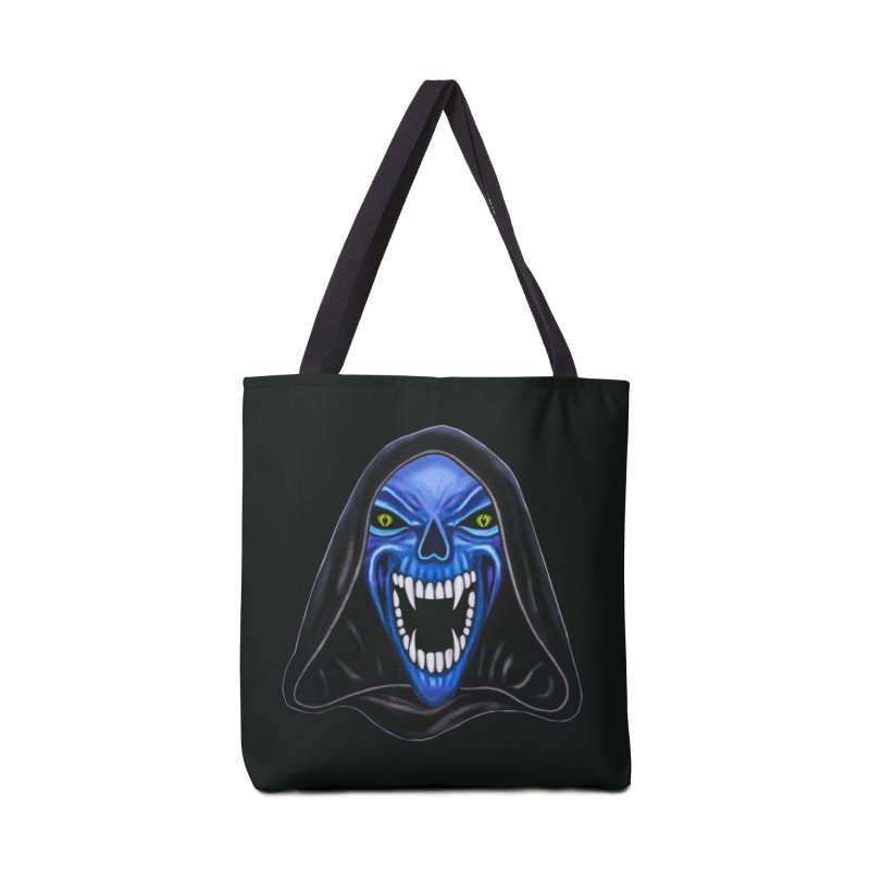 Blue Ghost Accessories Bag by Glitchway Store