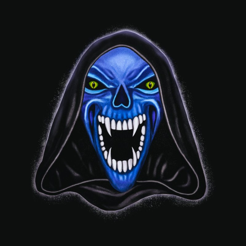 Blue Ghost by Glitchway Store
