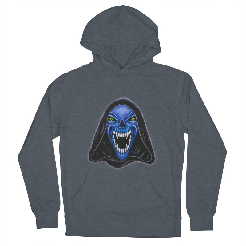 Blue Ghost Women's Pullover Hoody by Glitchway Store