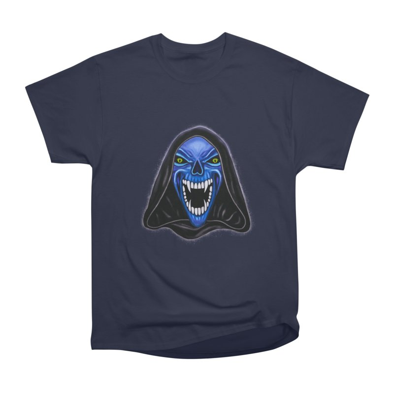 Blue Ghost Women's Classic Unisex T-Shirt by Glitchway Store